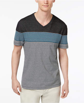 Alfani Men's Engineered Stripe T-Shirt, Created for Macy's