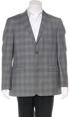 Valentino Plaid Sport Coat