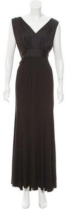 Vera Wang Draped Evening Dress $150 thestylecure.com