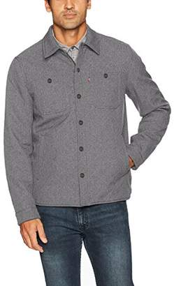 Levi's Men's Soft Shell Two Pocket Shirt Jacket