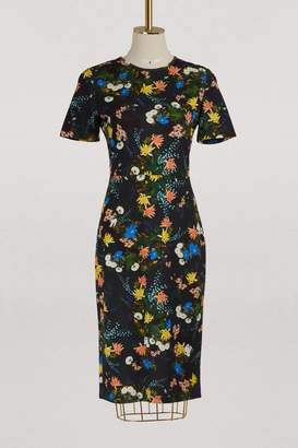 Erdem Essie short sleeved dress