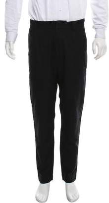 Robert Geller 2016 Wool Flat Front Robert Pants
