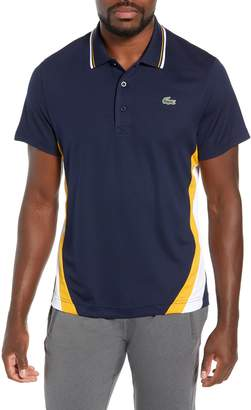 Lacoste Sport Regular Fit Colorblock Tech Pique Polo