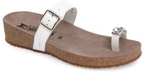 Mephisto Ilaria Embellished Wedge Sandal