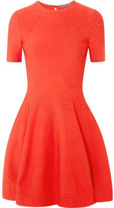 Alexander McQueen Stretch-jacquard Mini Dress