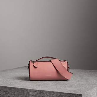 Burberry The Leather Barrel Bag, Pink