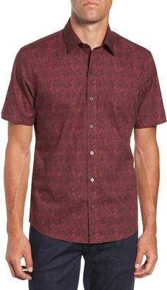 Zachary Prell Rinaldi Regular Fit Pattern Sport Shirt