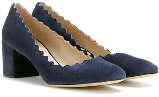 Chloé Lauren suede pumps