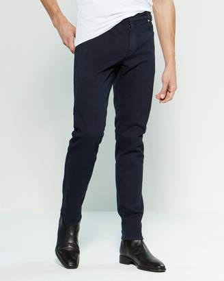 Balmain Dark Wash Cotton Jeans
