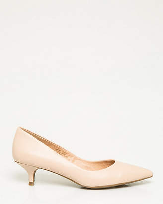 Le Château Leather Pointy Toe Pump