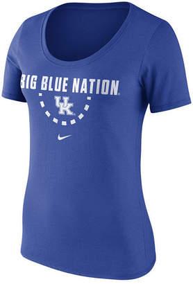Nike Women's Kentucky Wildcats Cotton Basketball T-Shirt