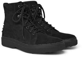 Tod's Nubuck Boots