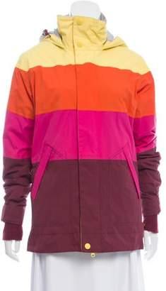 Burton Colorblock Puffer Jacket