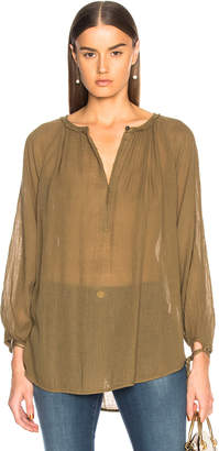 Raquel Allegra Little Peasant Top