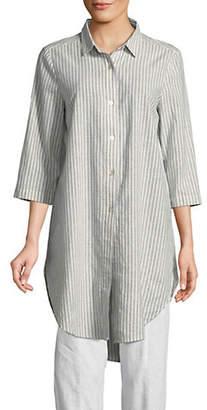 Eileen Fisher Classic Collar Tunic