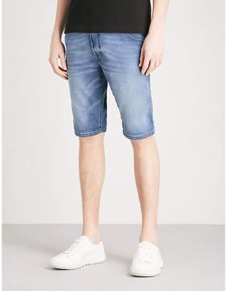 at Selfridges Diesel Krooshort-ne stretch-denim shorts