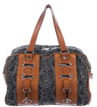 Balenciaga Jacquard Hook MM Bag