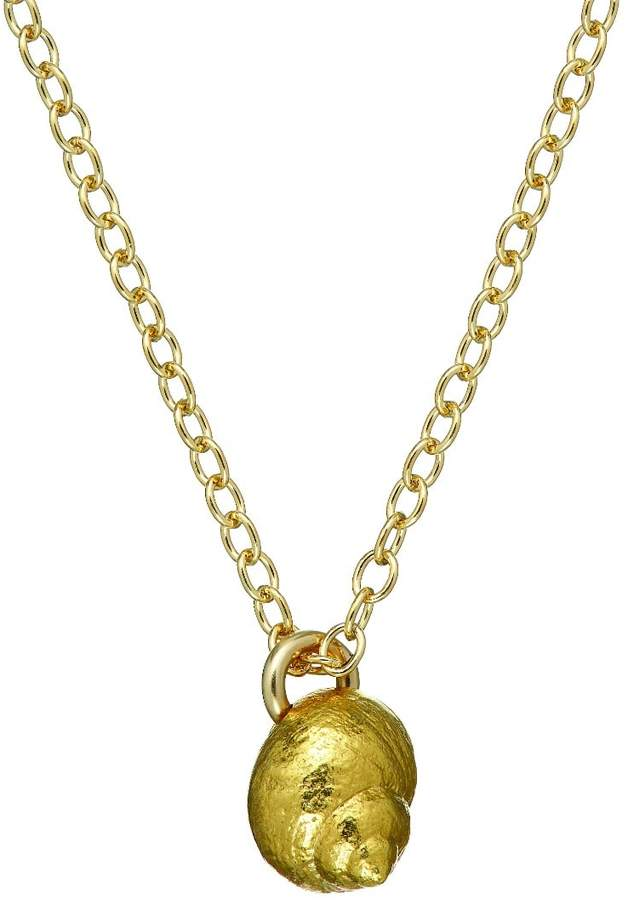 Chupi - Home is Wherever I'm With You Seashell Necklace in Gold