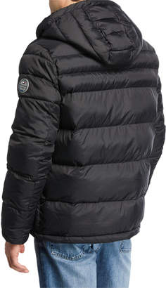 Modern American Designer Men's Heavyweight Performance Puffer Jacket