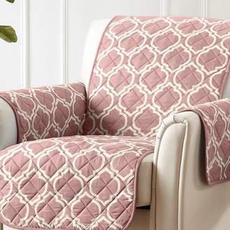 Winston Porter Printed Reversible T-Cushion Slipcover
