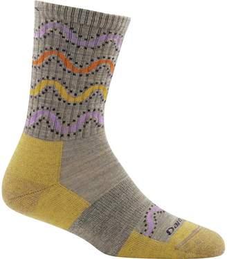 Darn Tough Wandering Stripe Micro Crew Light Cushion Sock - Women's