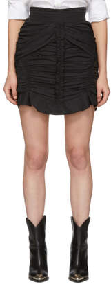 Isabel Marant Black Upi Miniskirt