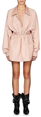 Stella McCartney Women's Twill Cutout-Back Shirtdress