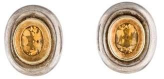 Robert Lee Morris Citrine Earrings