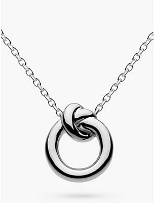 Kit Heath Sterling Silver Knot Necklace, Silver