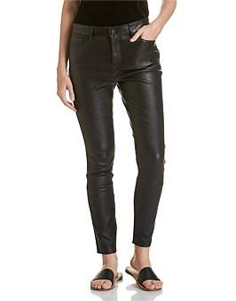 Theory 5 Pkt Leather Pant