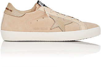 Golden Goose Women's Women's Superstar Suede & Leather Sneakers $515 thestylecure.com