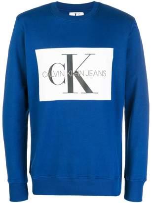 Calvin Klein Jeans CK logo sweater