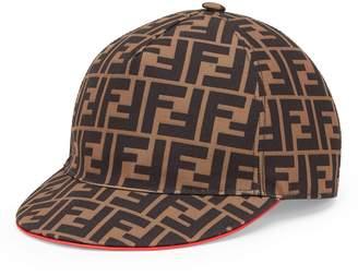Fendi Fendirama Logo Baseball Cap