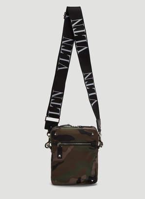 Valentino VLTN Camoflage Crossbody Bag in Camouflage