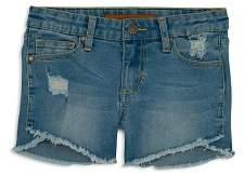 Joe's Jeans Girls' The Markie Denim Shorts in Blue - Little Kid