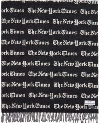 Etudes Black and White The New York Times Edition Magnolia Scarf
