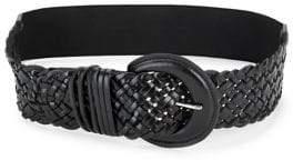 Fashion Focus Wide Braided Belt
