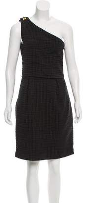 Chloé One-Shoulder Knee-Length Dress