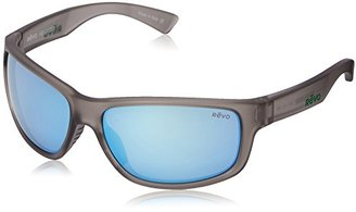Revo Baseliner RE 1006 00 BL Polarized Wrap Sunglasses, Crystal Grey/Blue Water, 61 mm $189 thestylecure.com