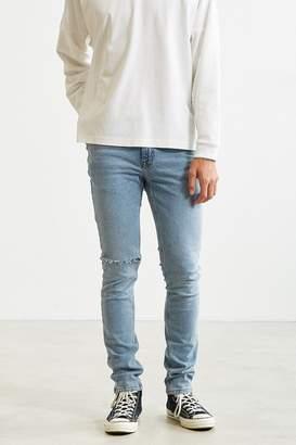 BDG Destructed Light Stonewash Skinny Jean $59 thestylecure.com
