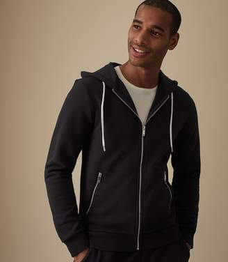 Reiss ORDER BY MIDNIGHT DEC 15TH FOR CHRISTMAS DELIVERY AVERY ZIP HOODIE Navy