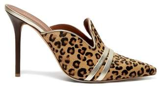 Malone Souliers By Roy Luwolt - Hayley Calf Hair Mules - Womens - Leopard