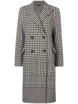 Ermanno Scervino double-breasted checked coat