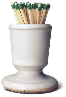 """3"""" Provincial Footed Match Striker - White/Natural - Farmhouse Pottery"""