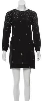 Steven Alan Silk Floral Dress