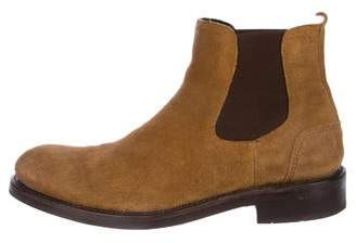 Wolverine Suede Chelsea Boots