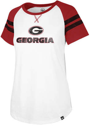 '47 Women's Georgia Bulldogs Fly Out Raglan T-Shirt