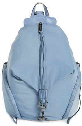 Rebecca Minkoff Julian Nylon Backpack - Blue $145 thestylecure.com