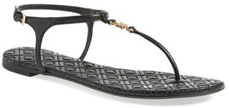 Tory Burch 'Marion' Quilted Sandal (Women) $225 thestylecure.com