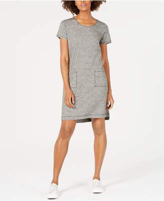Eileen Fisher Short-Sleeve Shirt Dress